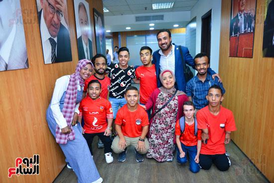 أول فريق كرة قدم لقصار القامة فى ندوة اليوم السابع (26)