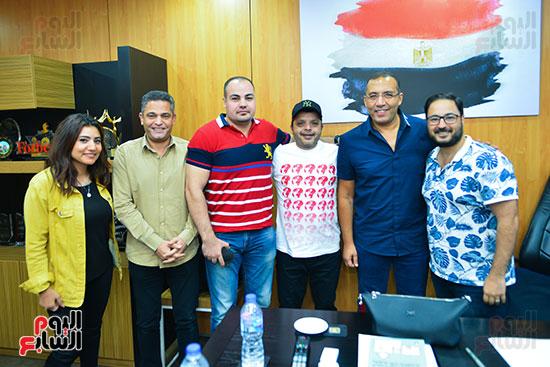 تكريم اليوم السابع للفنان محمد هنيدى (3)