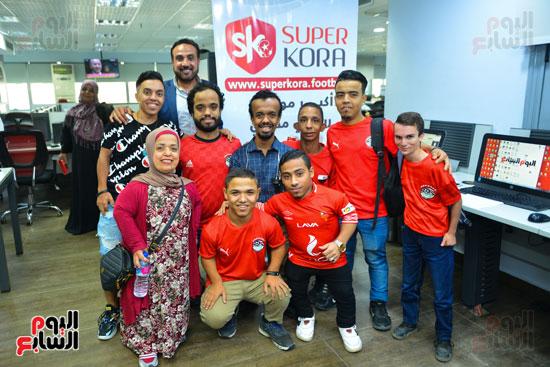 أول فريق كرة قدم لقصار القامة فى ندوة اليوم السابع (15)
