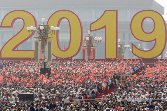 احتفالات شعبية فى ذكرى تأسيس جمهورية الصين