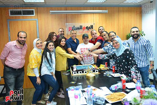 النجم محمد هنيدى فى ندوة فنية بـاليوم السابع (5)