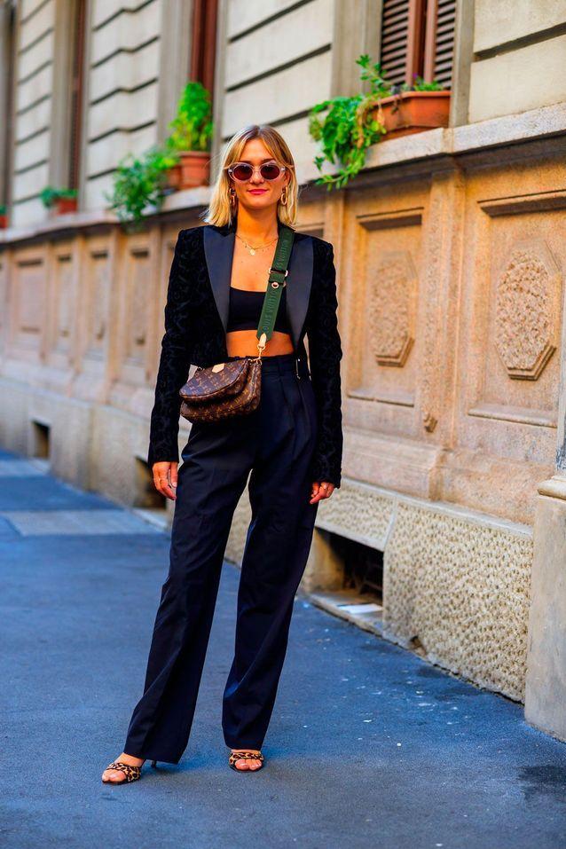 حقيبة لويس فيتون الأكثر انتشارا في أسبوع الموضة