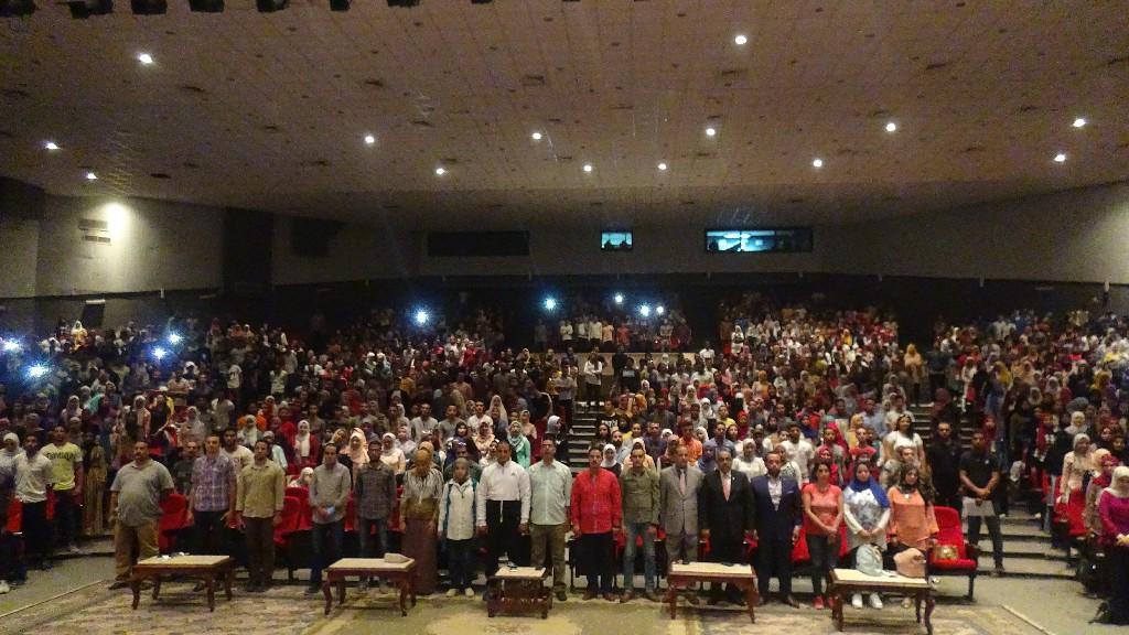 طلاب جامعة المنيا (7)