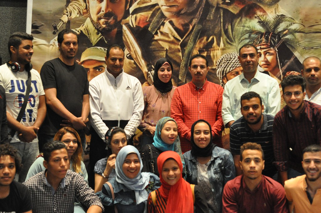 طلاب جامعة المنيا (3)