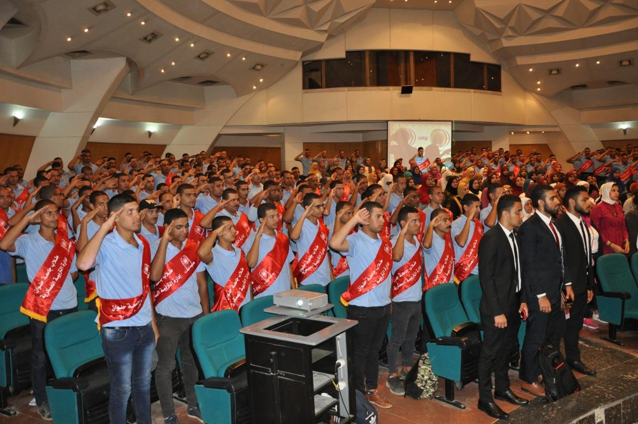 جانب من جامعة حلوان (2)