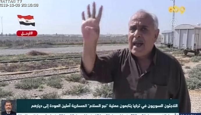 قناة وطن تستعين ببعض السوريين المؤيدين للعدوان