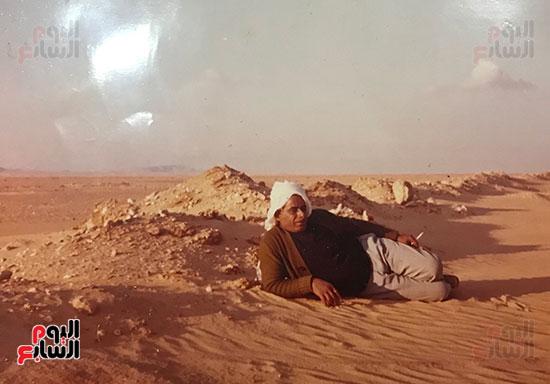 أبو-منونة-خلال-تواجده-بصحراء-وسط-سيناء