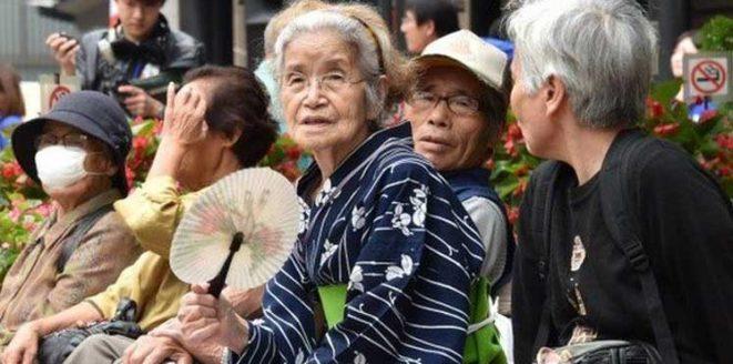 وصول عدد المعمرين في اليابان إلى 70 ألف شخص