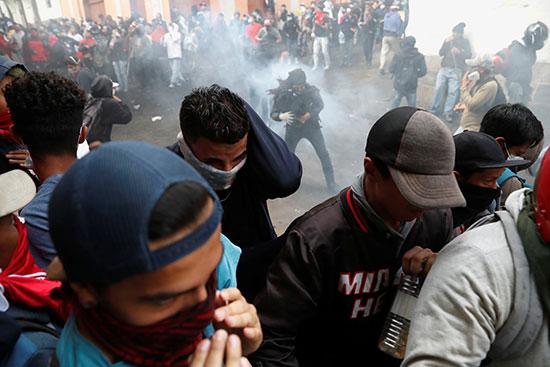 مظاهرات عنيفة فى الإكوادور
