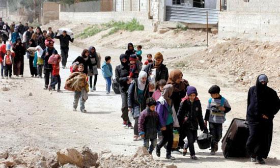 السيدات-والأطفال-ضحايا-العدوان-التركى