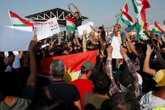 تظاهرات فى العراق