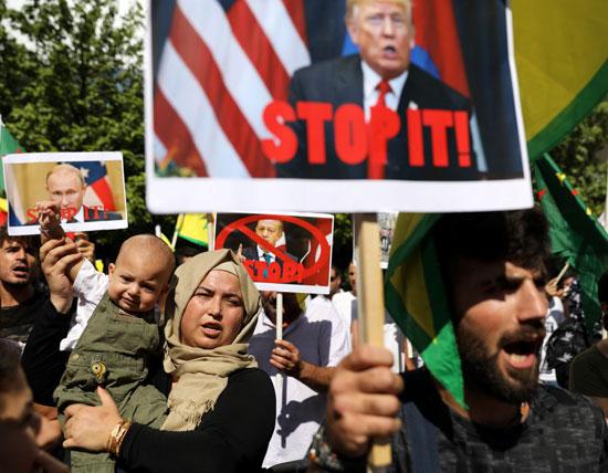 مظاهرات فى قبرص