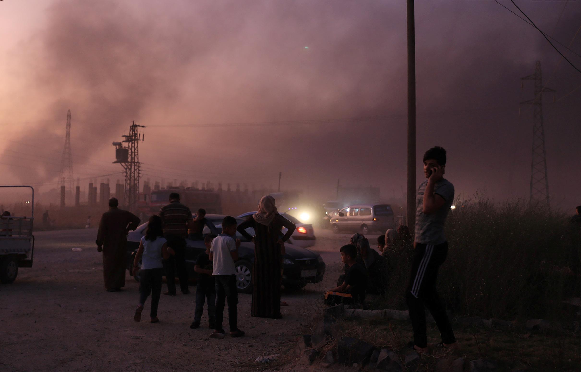 عدوان الاحتلال التركى على الأراضى السورية