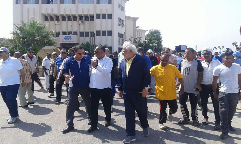 فعاليات المسيرة للمشي بشوارع محافظة الاقصر (5)