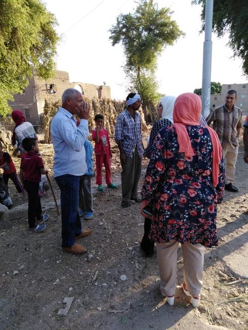 وفد متابعة المشروعات بـالوزراء يزور القرى الأكثر احتياجا (4)