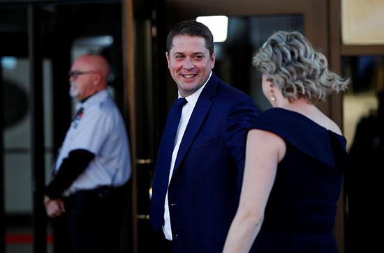 زعيم حزب المحافظين أندرو شير
