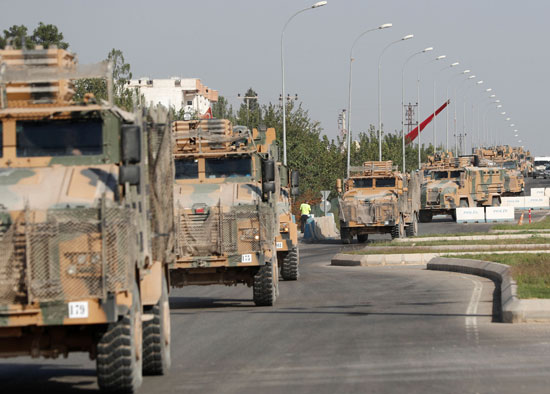 قوات الجيش التركى