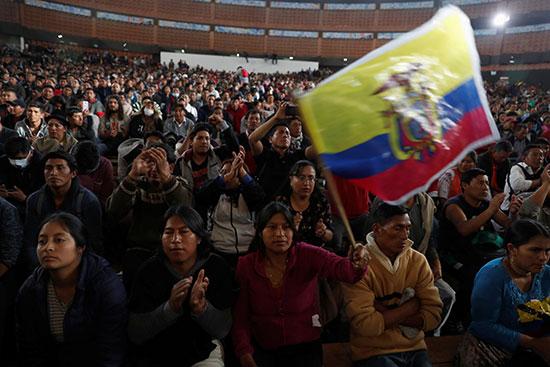 مظاهرات الإكوادور جاءت احتجاجا على قرارات إصلاحية