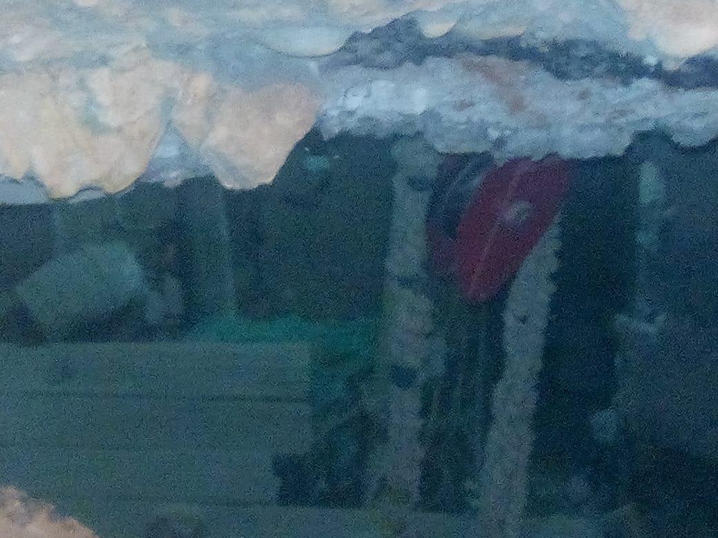 سقوط سيارة في حفرة أمام منزل العقاد (4)