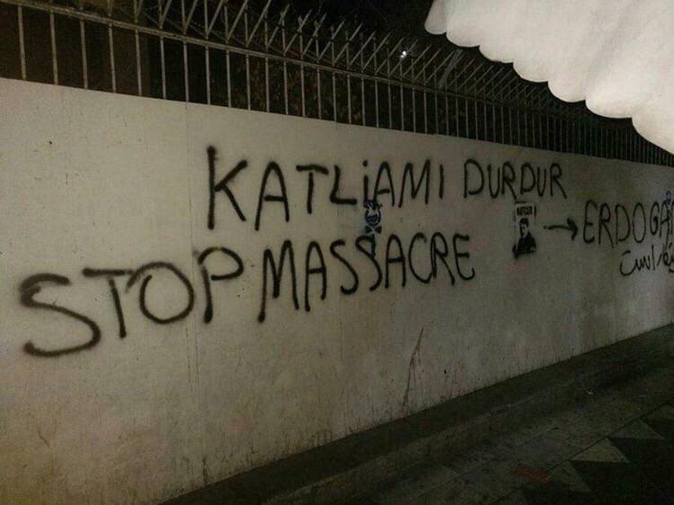 مظاهرات ضد اردوغان