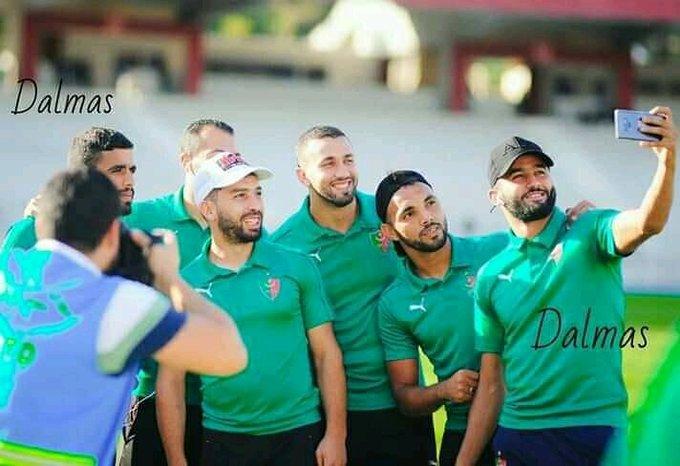 لاعبو مولودية الجزائر