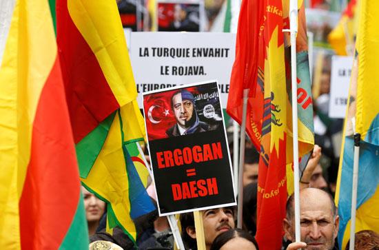 مظاهرات فى ألمانيا