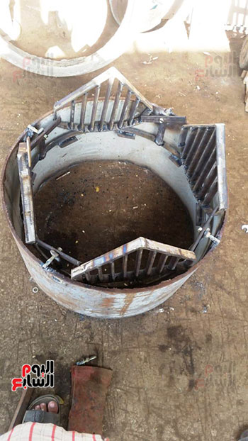 شركة-مياه-الجيزه-تعد-شبكات-أسفل-أغطية-بالوعات-الصرف-(5)