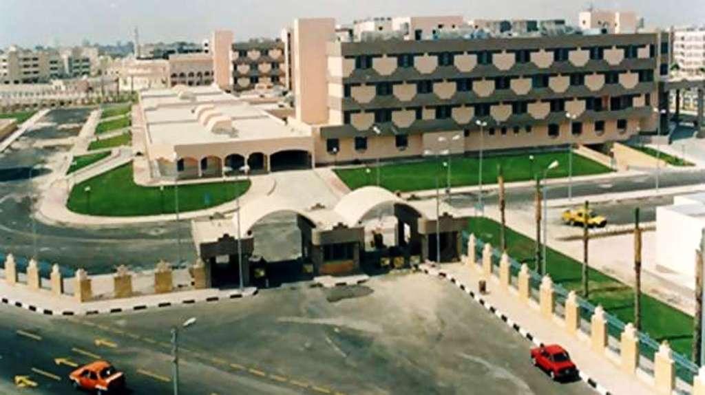 6- جانب من المستشفى العام