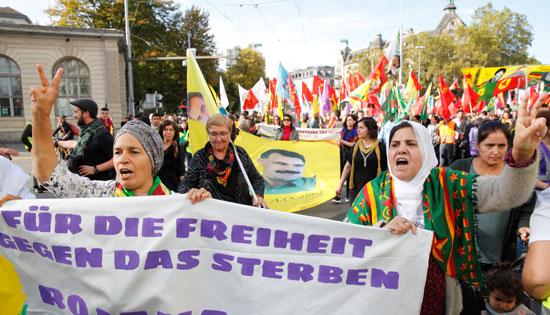 مظاهرات زيوريخ