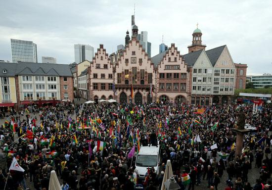 مظاهرات بألمانيا