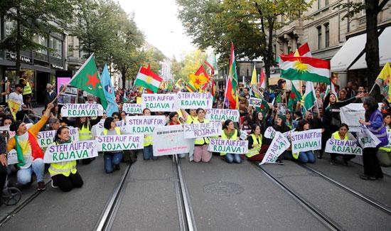 احتجاجات فى السويد