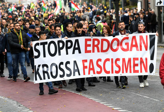 احتجاجات السويد