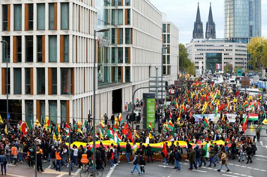 مظاهرات فى شوارع برلين