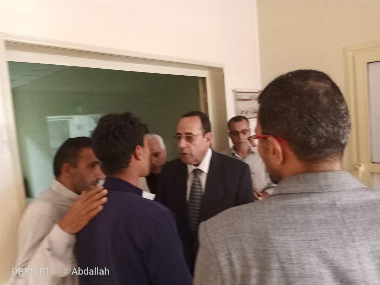 محافظ شمال سيناء يزور مصابى مدينة بئر العبد  (7)
