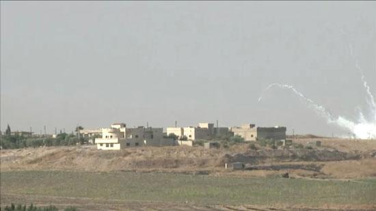 انفجار أثناء هجوم شنته القوات التركية