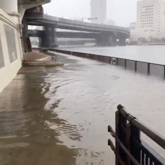 ارتفاع فى منسوب المياه