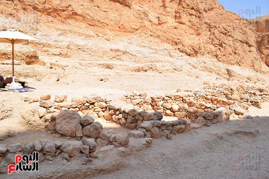 البعثة المصرية تعلن مواصلة العمل للتوصل لمقابر ملكية متوقعة لم تخرج للعالم بعد