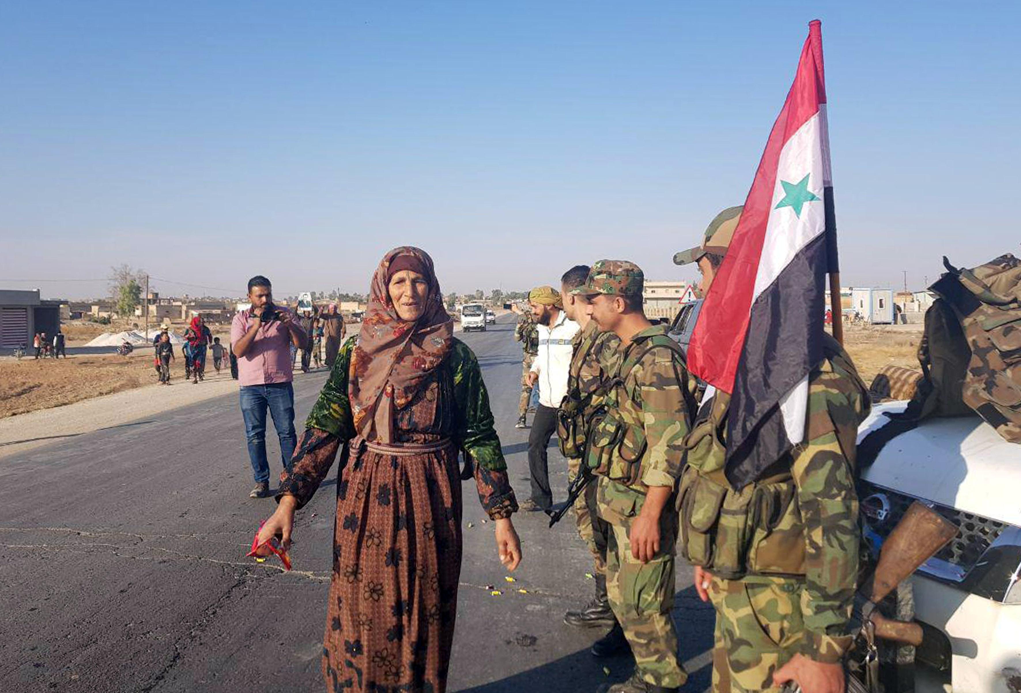 عناصر الجيش السورى