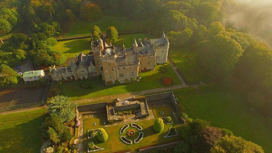 قلعة جليناب بـ اسكتلندا