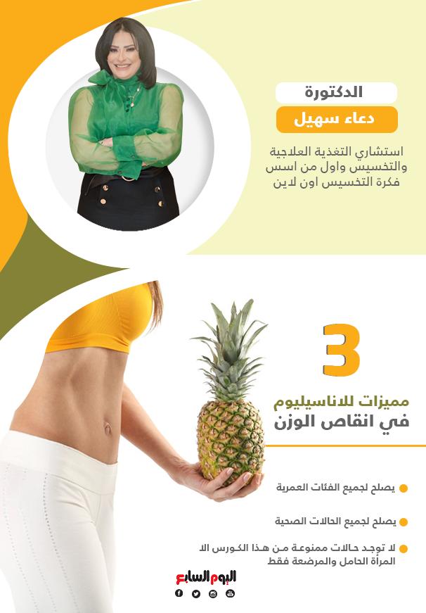 3 مميزات للاناسيليوم في انقاص الوزن