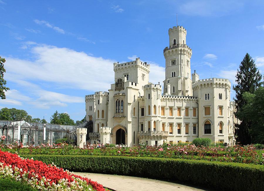 قلعة هلوبوك بـ جمهورية التشيك