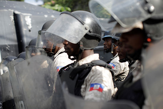 شرطة هايتى