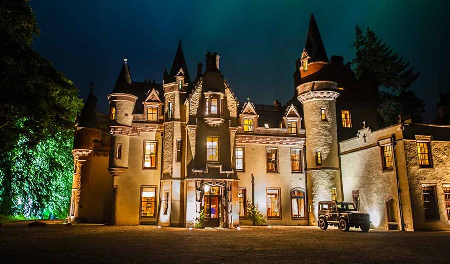 قلعة تارن بـ اسكتلندا