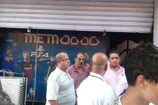 حملات لغلق المقاهى بمحيط المدارس (1)