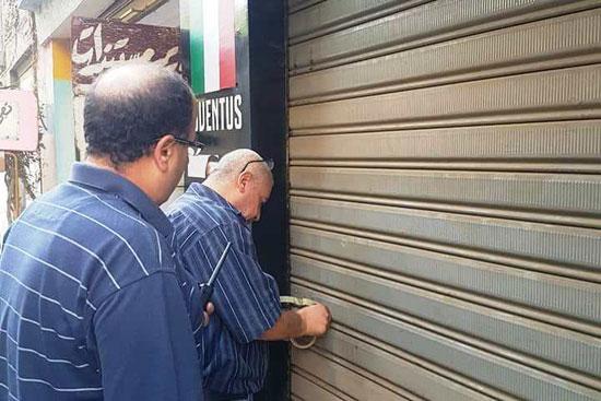 حملات لغلق المقاهى بمحيط المدارس (12)