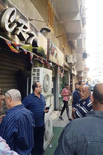 حملات لغلق المقاهى بمحيط المدارس (10)
