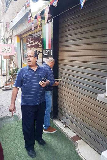 حملات لغلق المقاهى بمحيط المدارس (6)