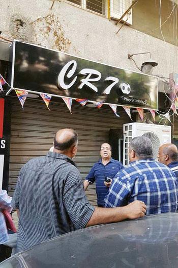 حملات لغلق المقاهى بمحيط المدارس (11)