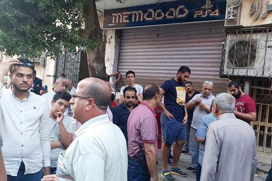 حملات لغلق المقاهى بمحيط المدارس (3)
