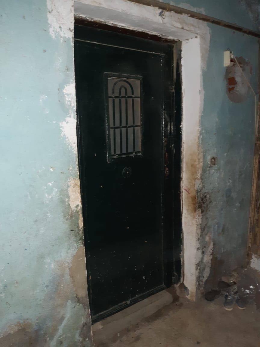 المنزل الذى وقعت الجريمة بداخله